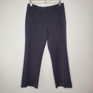 Anne Klein Black Straight Leg Trousers